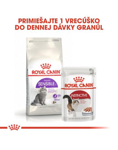 ROYAL CANIN Sensible 4kg granule pre mačky s citlivým trávením