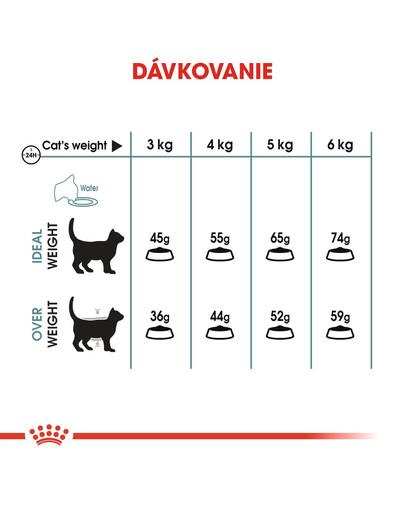 ROYAL CANIN Hairball Care 4kg granule pre mačky pre správne vylučovanie