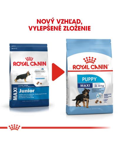 ROYAL CANIN Maxi Puppy 4kg granule pre veľké šteňatá