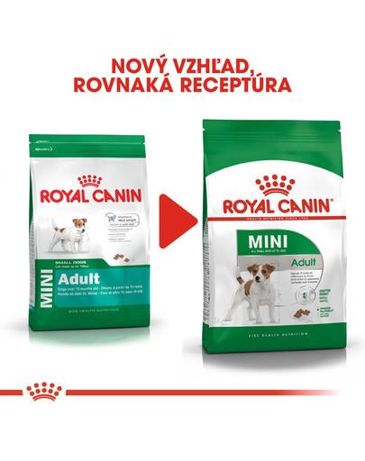 ROYAL CANIN Mini Adult 800g granule pre dospelé malé psy