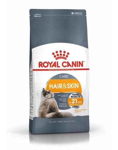 ROYAL CANIN Hair And Skin Care 4kg granule pre mačky pre zdravú kožu a srsť