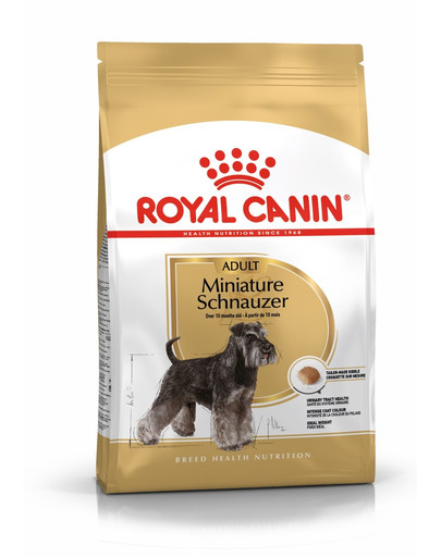 ROYAL CANIN Schnauzer Adult 7.5 kg granule pre dospelého bradáča