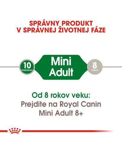 ROYAL CANIN Mini Adult 2kg granule pre dospelé malé psy