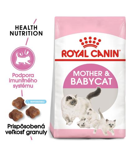 ROYAL CANIN Mother & Babycat 400g granuly pre kotné alebo kojace mačky a mačiatka