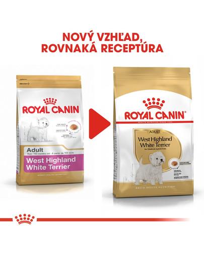 ROYAL CANIN Westie Adult 3kg granule pre dospelého westhinghlandského bieleho teriéra