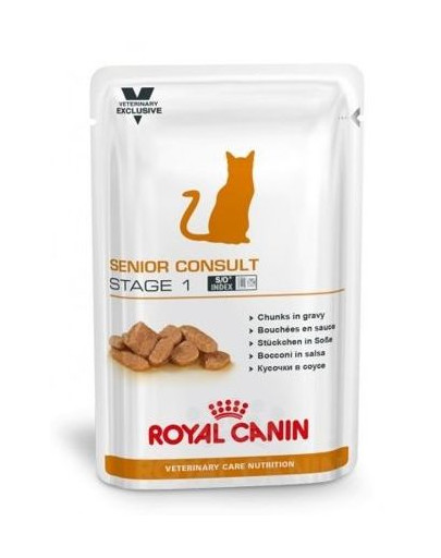 ROYAL CANIN Cat senior consult stage 1 12x 100g