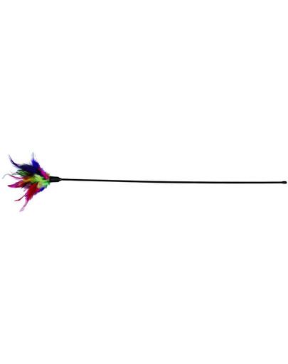 TRIXIE Vábnička s farebnom perím 50 cm