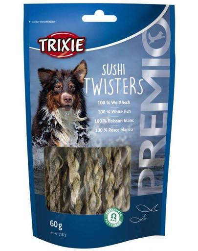 TRIXIE snack premio sushi Twisters vrkôčiky 60 g