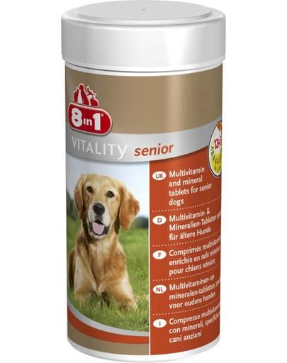 Vitamínový prípravok Multivitamín 8IN1 - Senior 70 tabliet