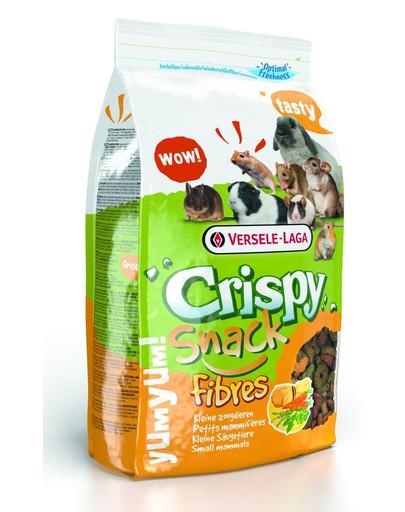 Versele-LAGA Crispy Snack Fibres 650 g Doplňujúca zmes s vysokým obsahom vlákniny