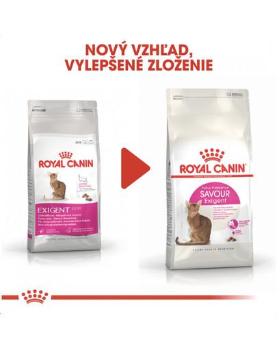ROYAL CANIN Savour Exigent 400g granule pre maškrtné mačky