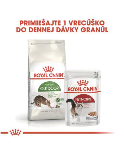 ROYAL CANIN Outdoor 400g granule pre mačky s častým pohybom vonku