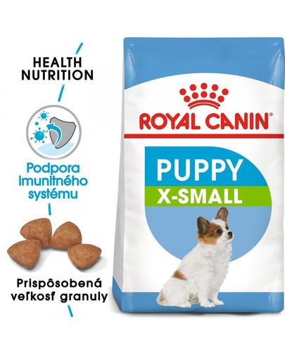 ROYAL CANIN X-Small Puppy 1.5 kg granule pre veľmi malé šteňatá
