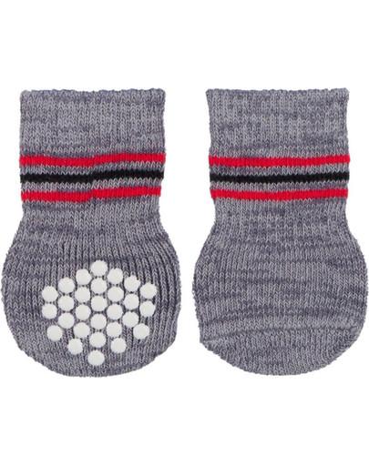 TRIXIE Protišmykové ponožky pre psa 2 ks m-l