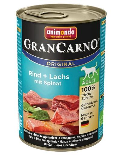 ANIMONDA Grancarno losos/špenát konzerva 400 g